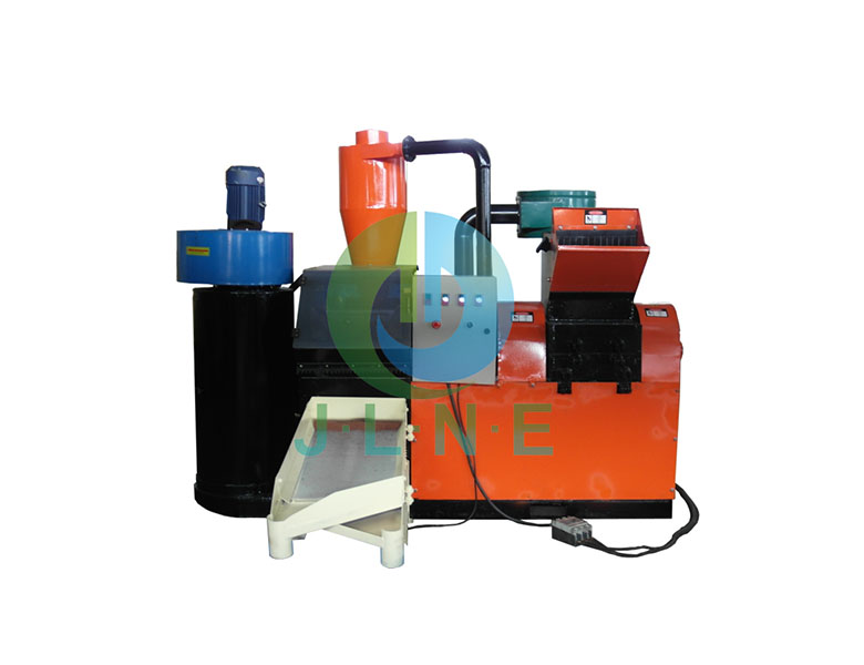 JLF-400 Scrap copper cable recycling machine-JLNE