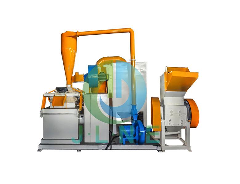 JLF-600 copper wire granulator-Jiangsu Jingliang New Energy