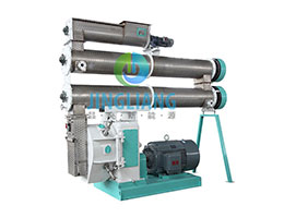 Feed pellet machine for acquatic livestock